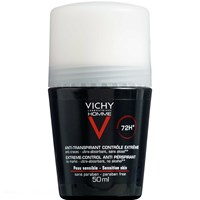 Vichy Homme Antiperspirant Deo roll-on 72H, 50 ml.